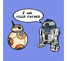 R2D2 and BB-8 Photographic Print