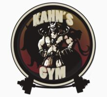 KAHN'S GYM by CrispGraphics