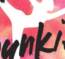 Bikram Junkie Sticker