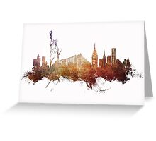 New York City - skyline Greeting Card