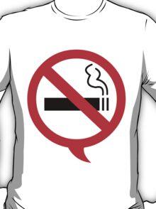 Say no to cigarettes T-Shirt