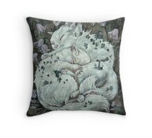 The Sleepers in that Quiet Earth Throw Pillow