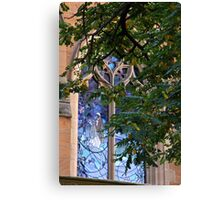 Stain Glass Canvas Print