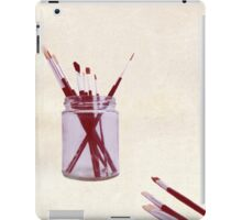 Blank Canvas | Red iPad Case/Skin