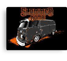 Slammed Kombi Canvas Print