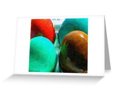 Eggs and Texture Greeting Card