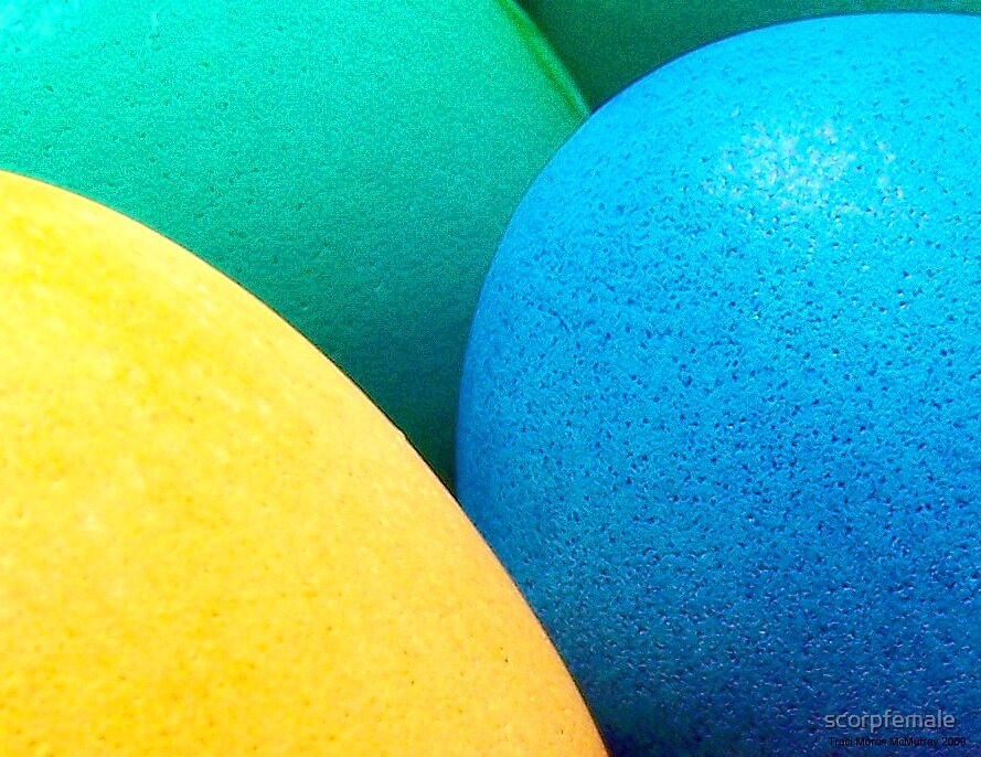 Eggs:  Study In Color and Pigment by scorpfemale