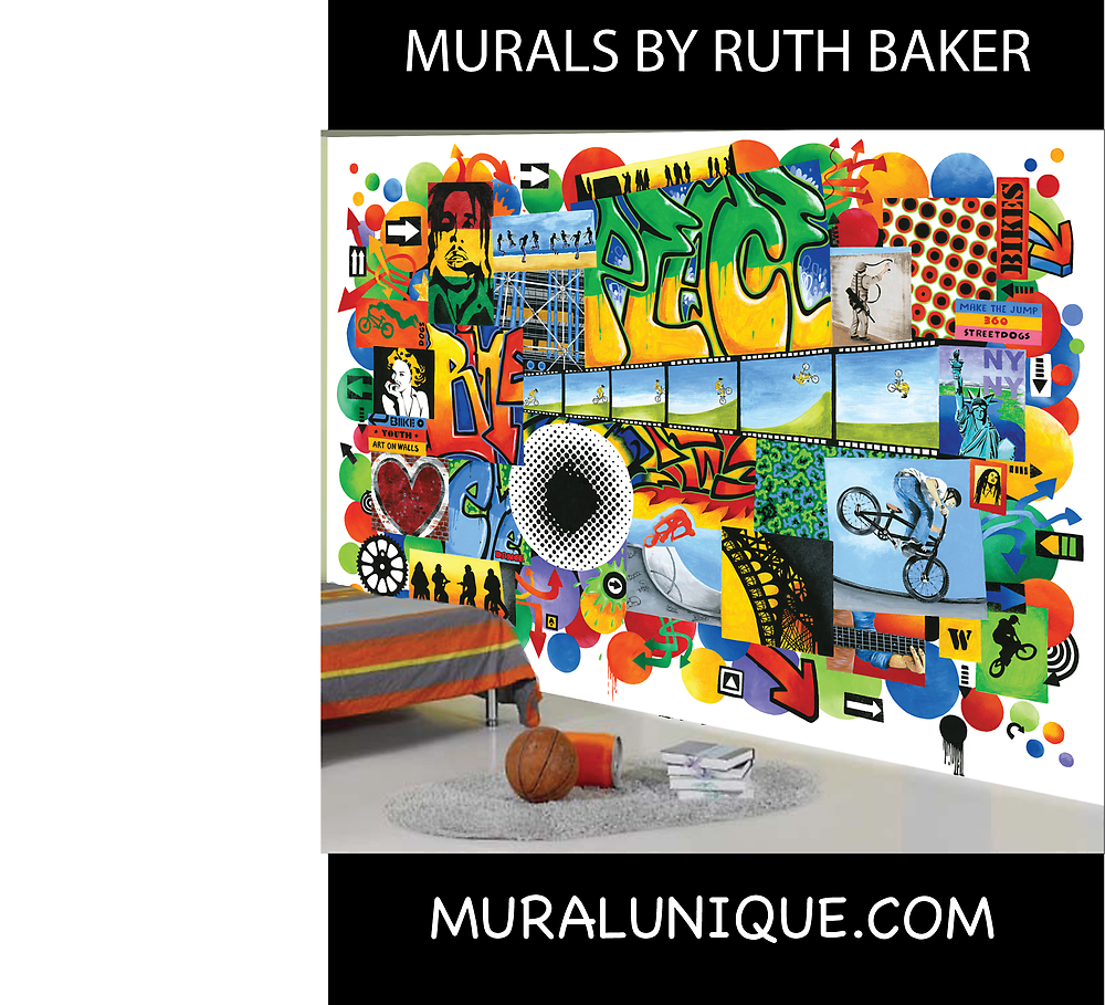 Murals By Ruth Baker by RuthBaker