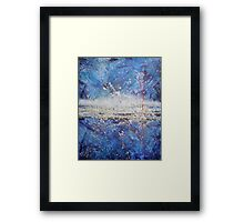 Separation of Heaven and Earth Framed Print