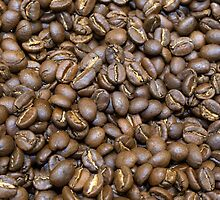 Coffee Beans by Susan Werby