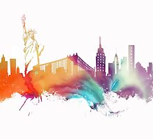 NYC New York City skyline by JBJart