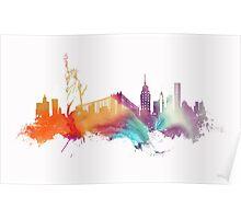 NYC New York City skyline Poster