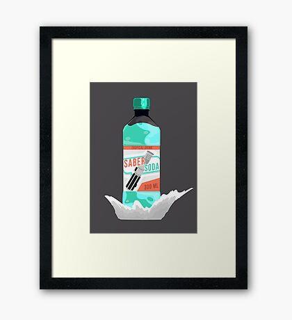 Star Wars Drink Framed Print
