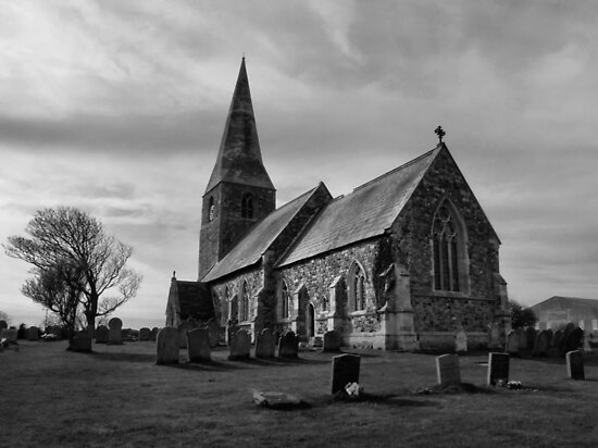The Parish Church of All Saints by Sarah Couzens