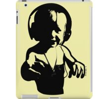 Headphones - Black iPad Case/Skin