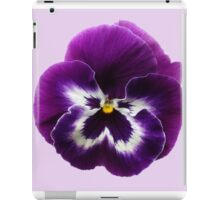 Purple Pansy iPad Case/Skin