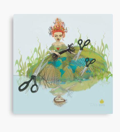 lady regina  series:  heart strings Canvas Print