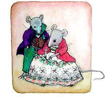 Mr and Mrs Mouse by Roz McQuillan