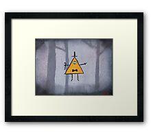 Bill Cipher Framed Print