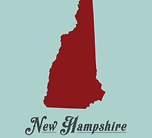 New Hampshire - States of the Union by Michael Bowman