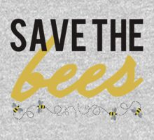 Save The Bees One Piece - Long Sleeve