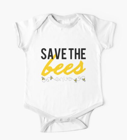 Save The Bees One Piece - Short Sleeve