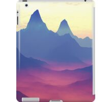 Mountains of Another World iPad Case/Skin