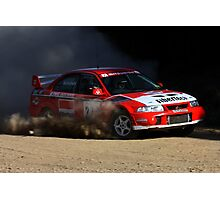 Rally of Lithgow (Car 27) Photographic Print