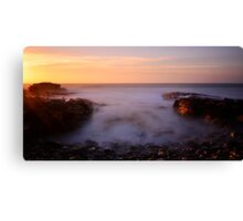Sunset.........North West Coast Canvas Print