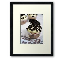 cookies and cream Framed Print