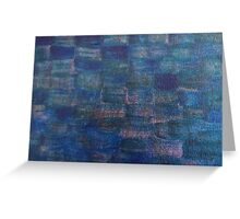 Reflections on Water - Holly Cannell Greeting Card