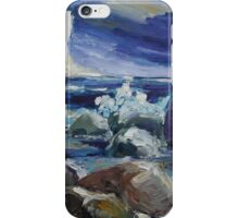 Approaching Storm At Kap Arkona iPhone Case/Skin