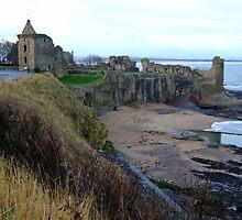St. Andrews Castle by TexasRanger