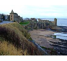 St. Andrews Castle Photographic Print