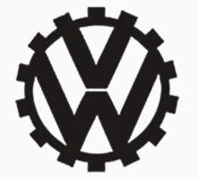 `VW logo by blanchy
