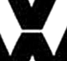`VW logo Sticker