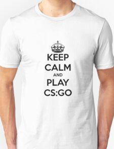 Keep calm and play CS:GO shirt T-Shirt