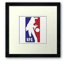 NPA Pokemon Framed Print