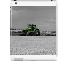 Working the Fields iPad Case/Skin