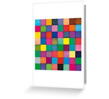 Colorful Fluo Greeting Card