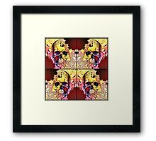 The four corners of my conscience mind Framed Print