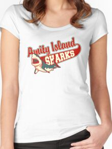 Sharks and Recreation Women's Fitted Scoop T-Shirt