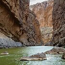 St. Elena Canyon - Rio Grande River by Robert Kelch, M.D.