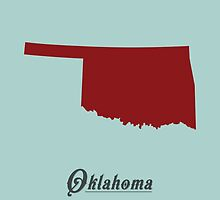 Oklahoma - States of the Union by Michael Bowman