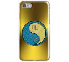 Scorpio & Dragon Yang Metal iPhone Case/Skin