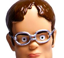 Dwight Bobblehead  by pickledbeets