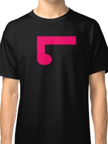 ElementLad - Logo in Pink Classic T-Shirt