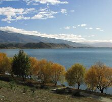 Autumn/Fall Lake Dunstan by Karen Doidge