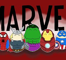 Marvel Tiggles by LaurasLovelies