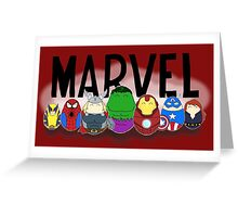 Marvel Tiggles Greeting Card